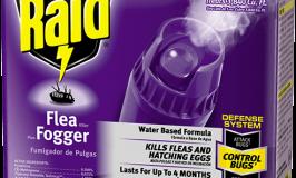 raid flea killer plus fogger